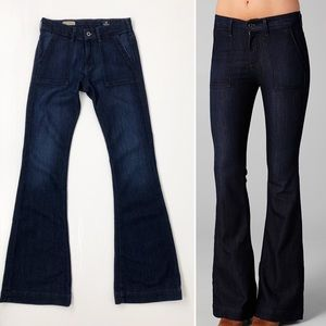 AG The Goldie Bell Bottom Jeans